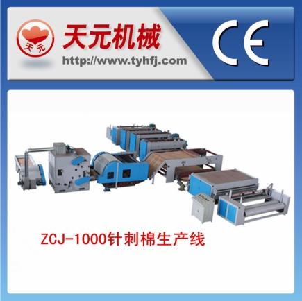 Linhas de produção Tipo de acupuntura algodão ZCJ-1000
